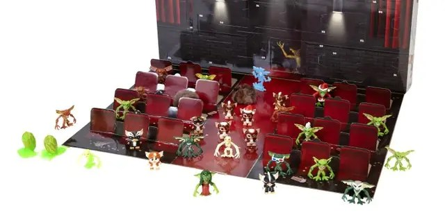 The Jakks Holiday Gremlins Advent Calendar Countdown retails for $49.99.