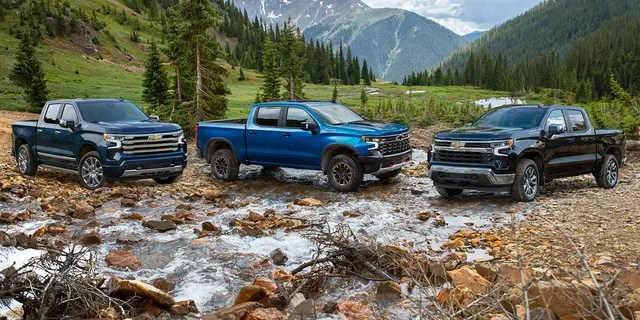 The Chevrolet Silverado High Country, ZR2 and LT each have a unique grille design.