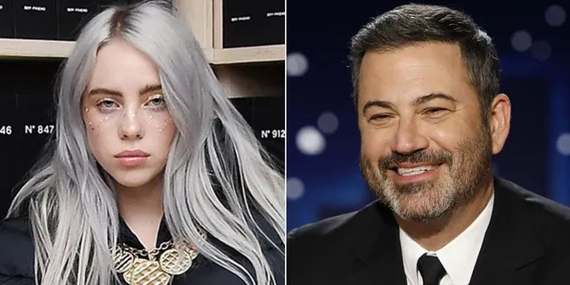 Billie Eilish called out Jimmy Kimmel during an appearance on his show.