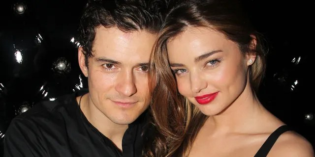 Orlando Bloom and then-wife Miranda Kerr attend the after party for the Broadway opening night of 'Shakespeare's Romeo And Juliet' at The Edison Ballroom on September 19, 2013 in New York City.