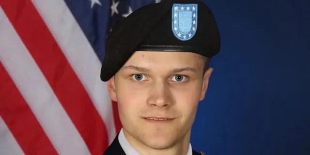 Army Basic Training photo of Spc. Maxwell Hockin