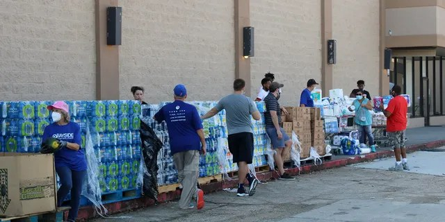 New Wine Christian Fellowship helping distributing supplies to the Laplace community after Hurricane Ida