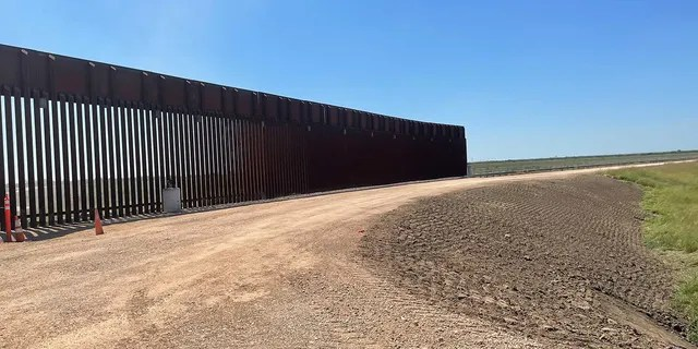 The Trump-era border wall remains unfinished after the Biden administration put a stop to it. (Fox News)