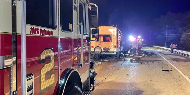 The crash occurred on a stretch of divided highway in Middle Paxton Township.