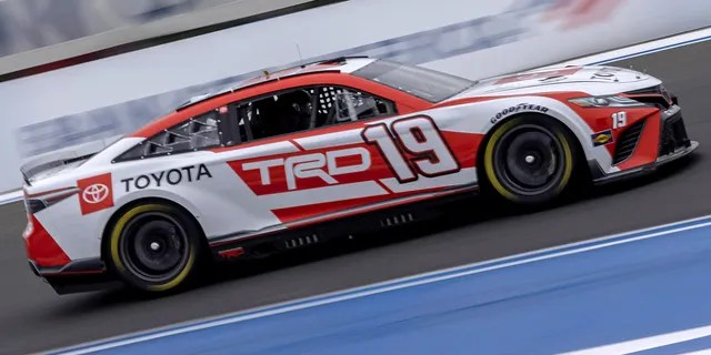 The Toyota Camry Cup Series car tested at Charlotte this week.