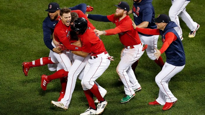 Red Sox eliminate Rays 6-5 with late sac fly