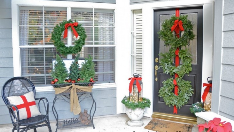 20 Elegant Outdoor Christmas Decorations Perfect For The
