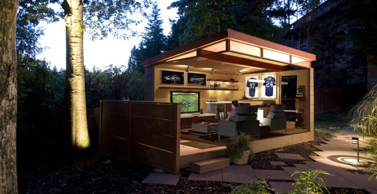 10 Awesome Backyard Man Cave Ideas on Man Cave Patio Ideas  id=35915