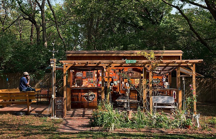 10 Awesome Backyard Man Cave Ideas on Man Cave Patio Ideas  id=32117