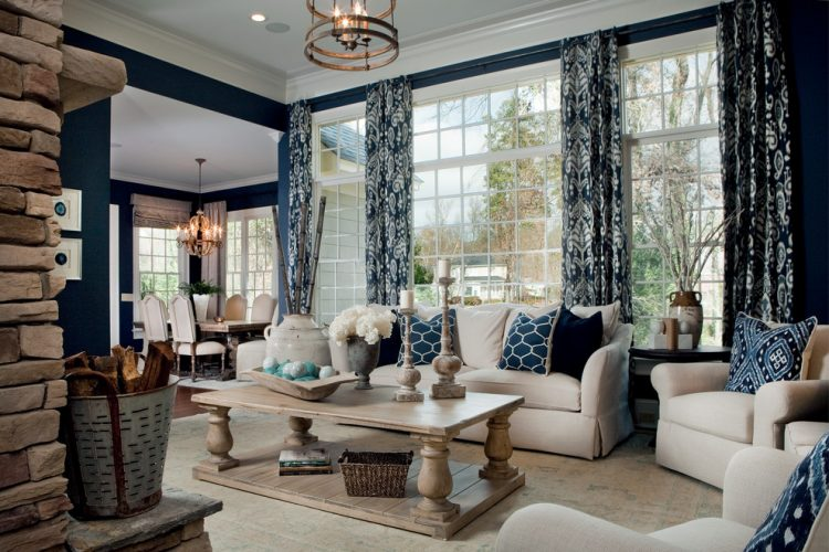 10 Blue Living Room Ideas And Designs