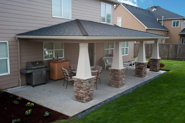 20 Beautiful Covered Patio Ideas on Add On Patio Ideas  id=78078