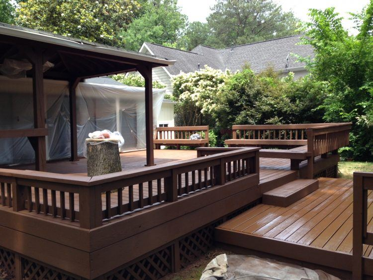 20 Beautiful Wooden Deck Ideas For Your Home on Wood Deck Ideas For Backyard  id=32325