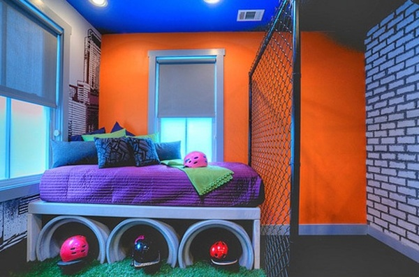 20 Cool Bedrooms You'll Fall In Love With on Cool Bedroom Ideas For Small Rooms  id=15488