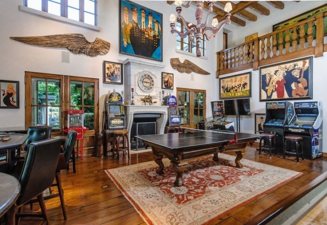 Kitchens have opened up to living sp. 20 Of The Coolest Home Game Room Ideas