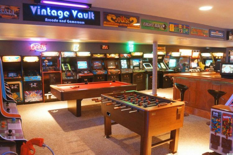 For homeowners with creativity and a need for something different, there's great potential for life. 20 Of The Coolest Home Game Room Ideas