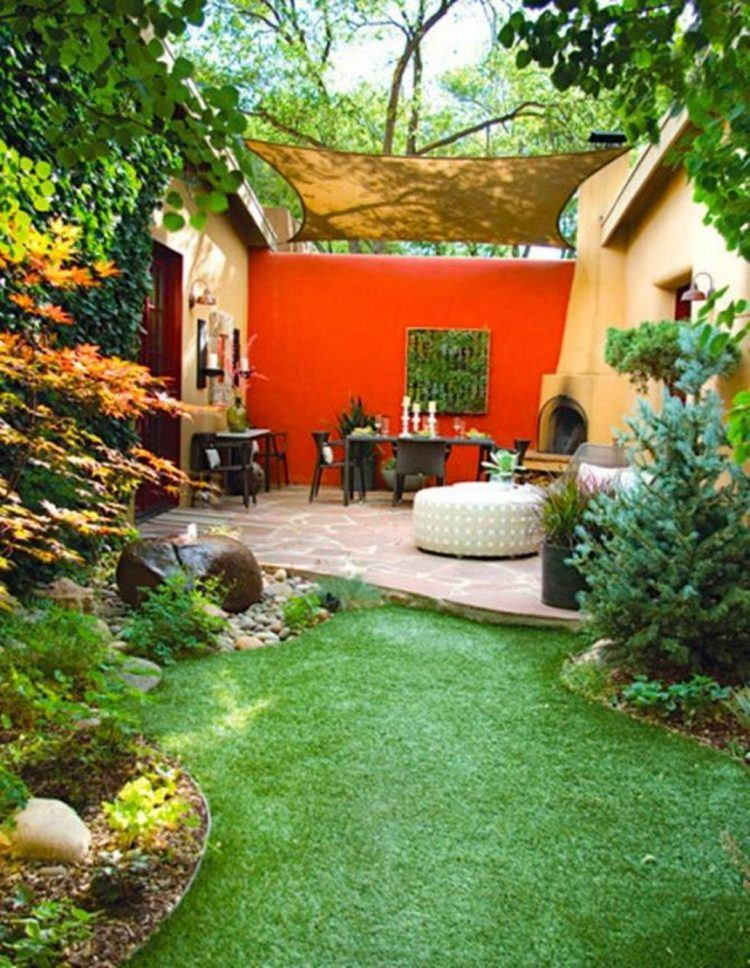 10 Of The Best Outdoor Accent Wall Ideas on Garden Patio Wall Ideas id=59762
