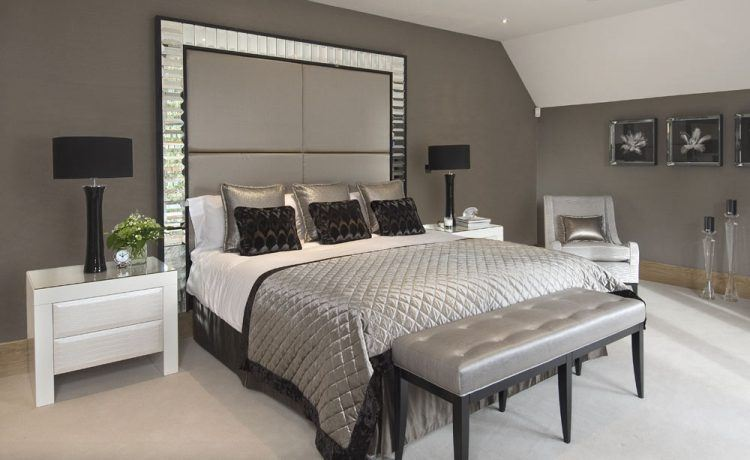 20 Stunning Mirrored Headboard Designs on Mirrors Next To Bed  id=22803