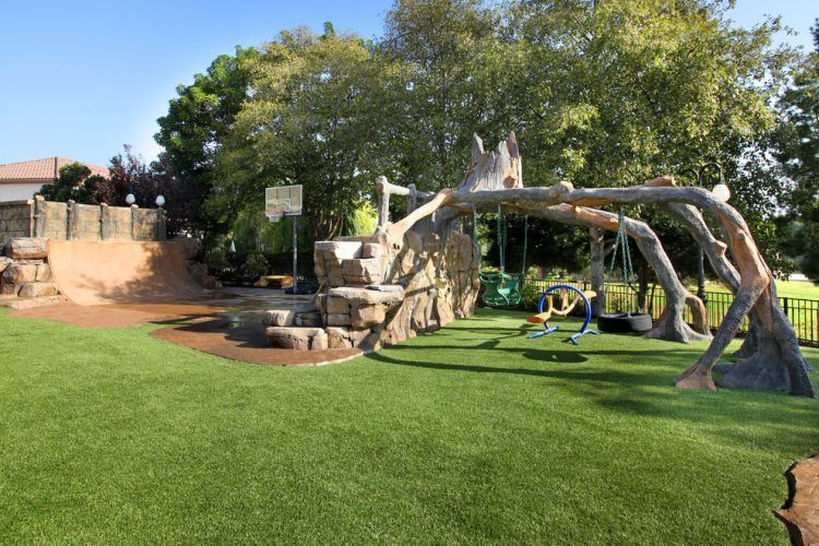 20 Of The Coolest Backyard Designs With Playgrounds on Big Backyard Landscaping Ideas id=61385