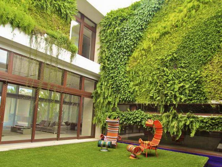 20 Of The Most Beautiful Outdoor Living Wall Ideas on Wall Ideas For Yard id=86636