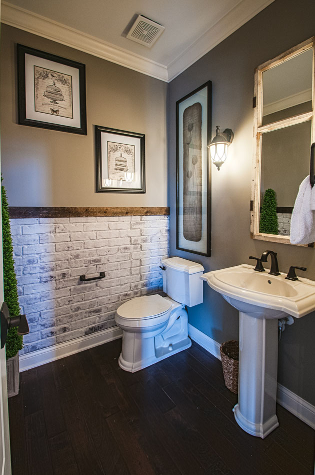 15 Small Bathroom Designs You'll Fall In Love With on Bathroom Ideas Small  id=15263