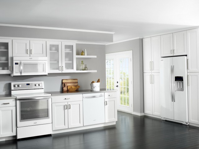 20 Modern Kitchen Designs With White Appliances