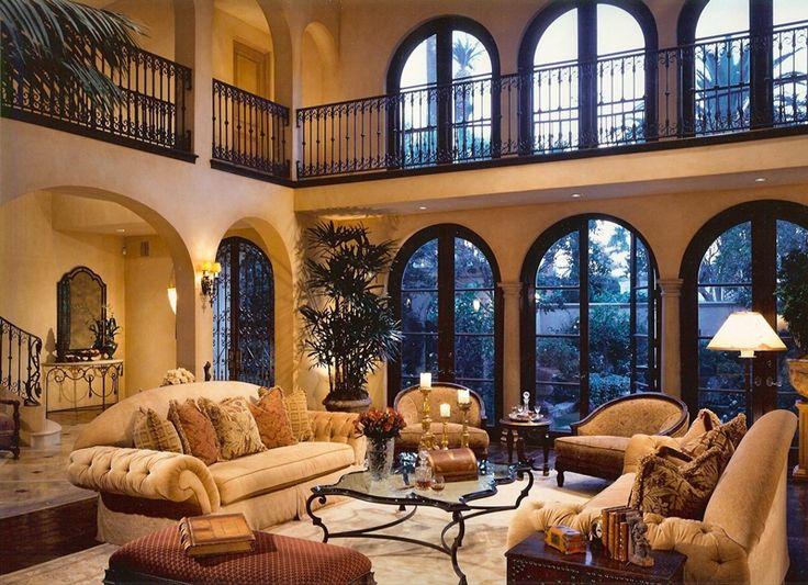 20 Amazing Living Rooms With Tuscan Decor - Housely on Photo Room Decor  id=28920