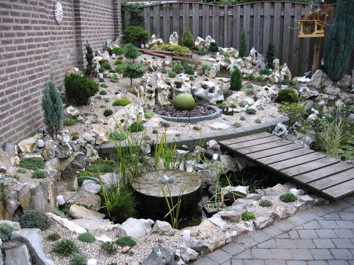 20 Of The Most Beautiful Rock Garden Ideas - Housely on Small Garden Ideas With Rocks id=28467