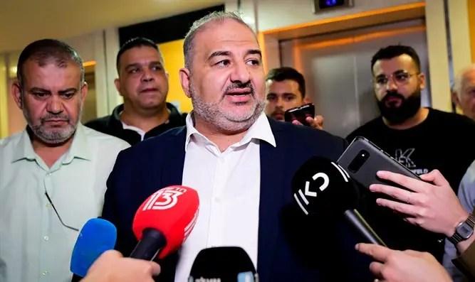 """Mansour Abbas: """"Somos parte del pueblo palestino"""" - Canal 7"""