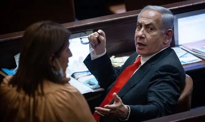 Netanyahu continúa cortejando al Canal 7 de Gantz
