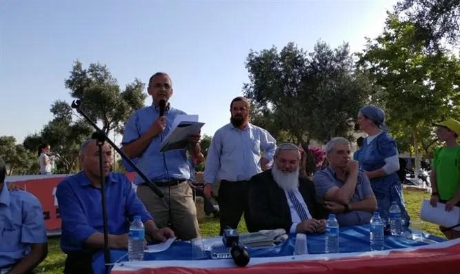 Image result for демонстрация бейт эль резиденция нетаньяху