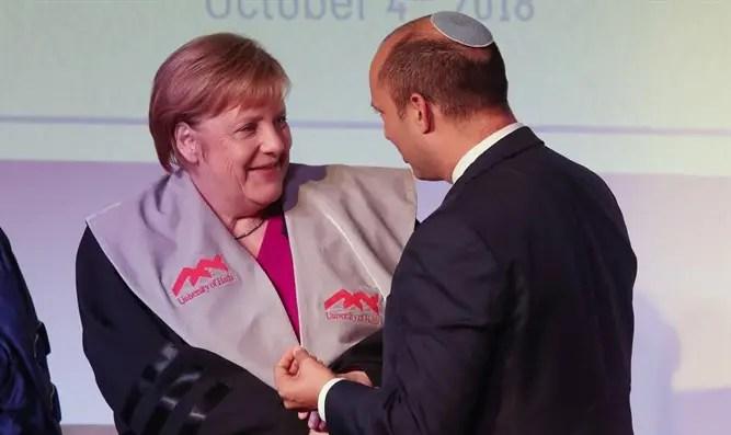 La canciller alemana ha pospuesto su visita a Israel debido al estado de emergencia en Afganistán-Canal 7