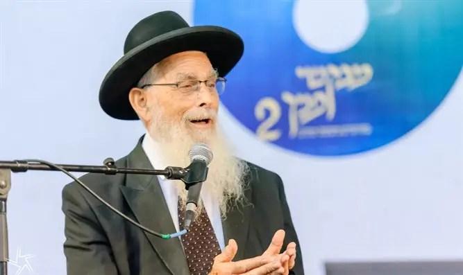 """Rab Yaakov Ariel: """"El oponente a la vacuna no debe entrar en una sinagoga"""" - Canal 7"""