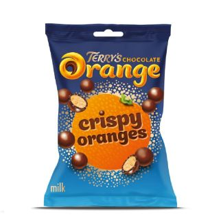 Terry's Milk Chocolate Crispy Oranges Bag 80g   UK Sweets