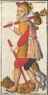 Tarocco di Jacques Viéville (XVII secolo) - Héron, France
