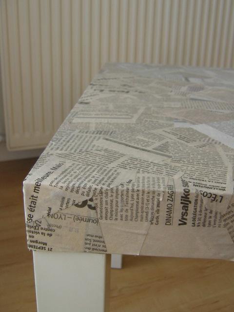 Hacker Une Table Avec Du Papier Journal Aa S Blog