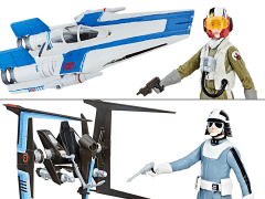 "Star Wars Force Link 3.75"" Class B Deluxe Vehicle Set of 2 (The Last Jedi)"