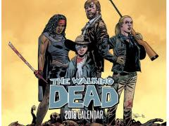 The Walking Dead 2018 Calendar With PX Walking Dead #1 Variant SDCC 2017 Exclusive