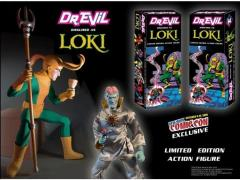 Dr. Evil Figure Dressed as Loki Exclusive