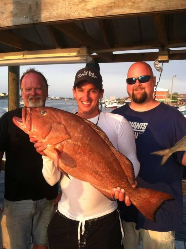 gulf of mexico grouper, Alabama deep sea fishing, sure shot charters