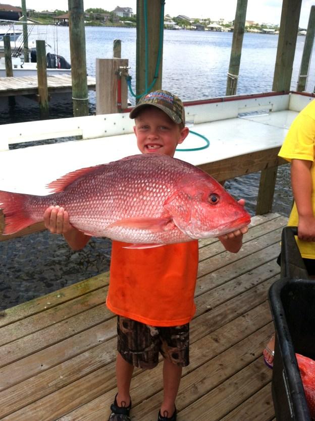 red snapper fishing orange beach al