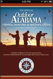 outdoor Alabama Smartphone Application, alabama red snapper reporting,