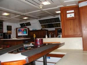 Luxury Charter Boat Interior Orange Beach AL