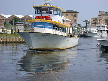 party boat fishing charters orange beach al