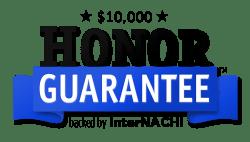 Honor guarantee logo