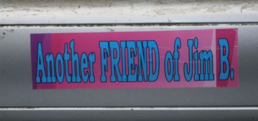 Another Friend Bumper Sticker