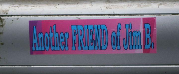 Another Friend Bumper Sticker