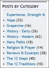 Posts by Category