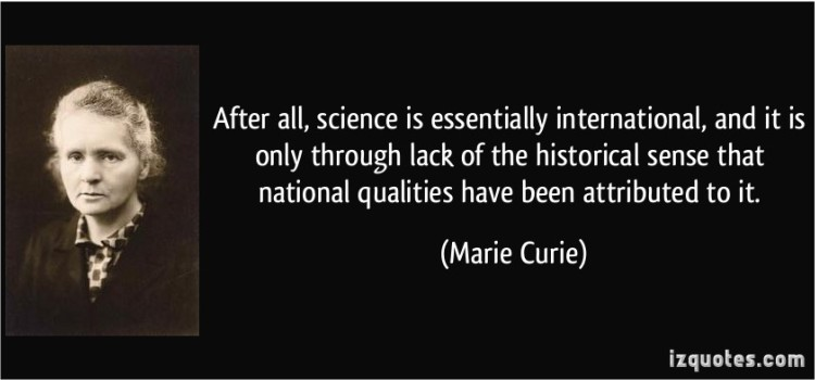 The historical sense - Curie