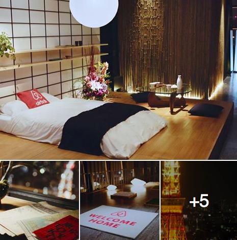 東京タワー airbnb 宿泊 応募 サイト