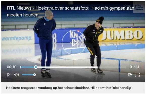 scheve schaats, op grote voet
